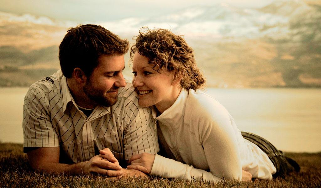 couple amoureux heureux