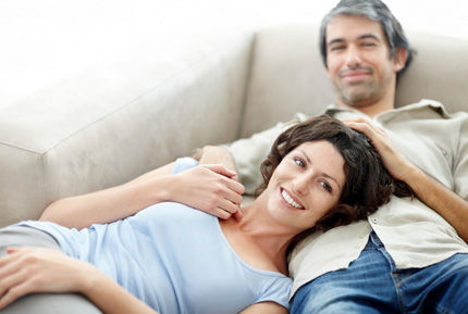 soirée télé en couple