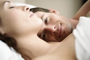 homme satisfait sexuellement